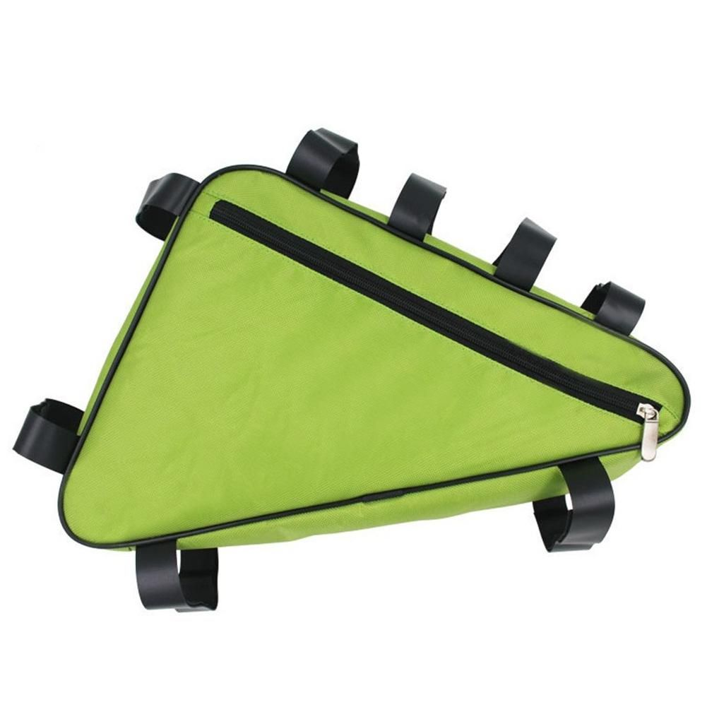 LumiParty Bike Bicycle Bag front Bag For Bicycle Bisiklet Triangle Handlebar Tube Frame Holder Bike Bicycle Accessories 2 Color