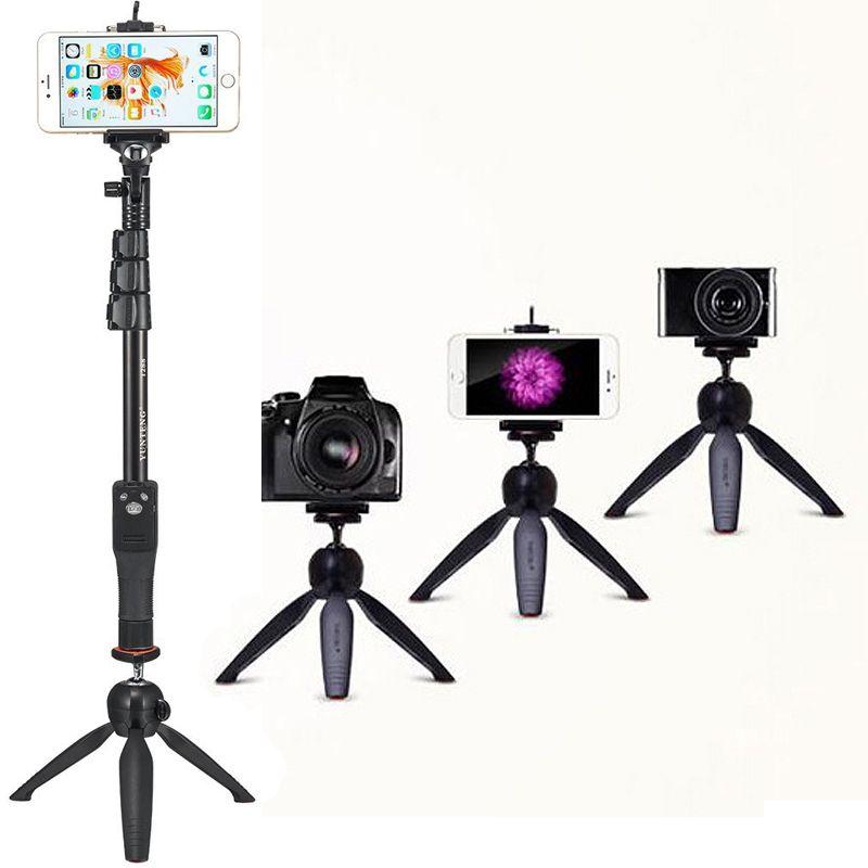 Caméra Photo Kits: bluetooth Déclencheur À Distance Trépied & De Poche 2in1 Téléphone Selfie Bâton Manfrotto Pour Samsung NOTE 9 Bord Plus Z G5
