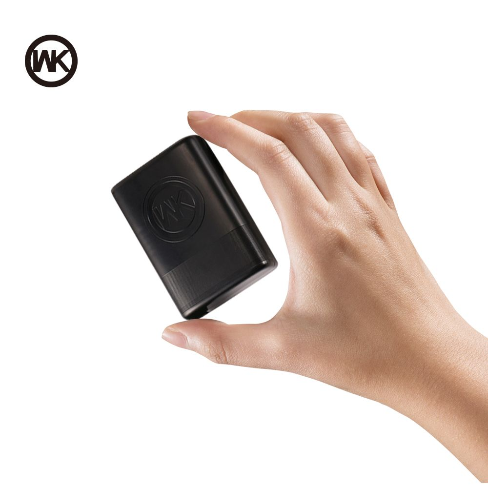 WK 5000 mAh chargeur Portable mince mini batterie externe 18650 Powerbank batterie externe pour batterie externe de xiaomi iPhone X Bateria Externa