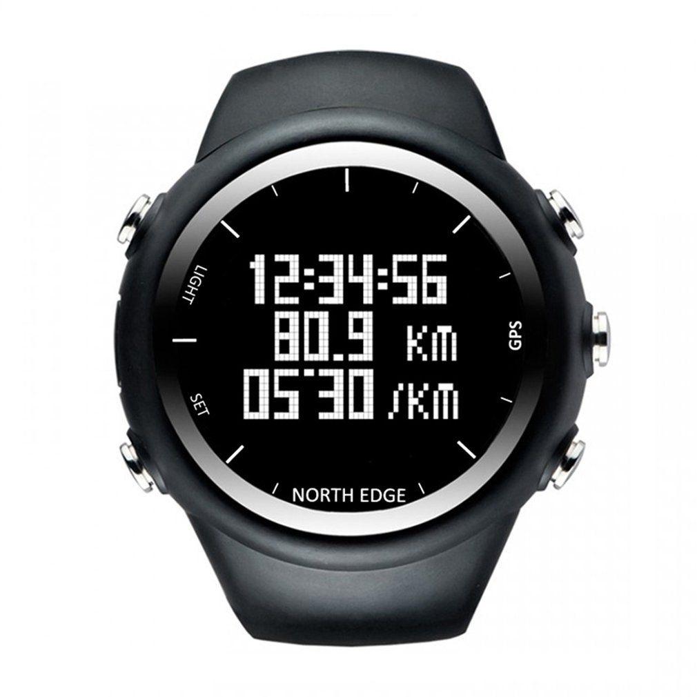 Norden Rand Professionelle GPS Uhr Männer Digitale Smart Tempo Geschwindigkeit Kalorien Laufen Jogging Triathlon Wandern Uhr Wasserdicht