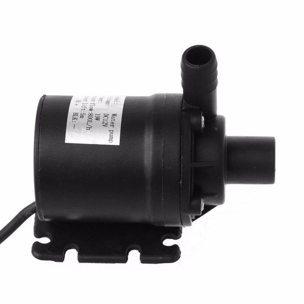 800L/H 5m Water Pump DC 12V Solar Brushless Motor Circulation Submersible Water Pumps 22W