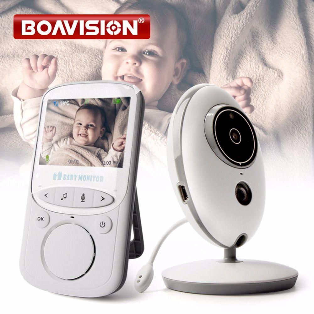 Wireless LCD Audio Video Baby Monitor VB605 Radio Nanny Music Intercom IR 24h Portable Baby Camera Baby Walkie Talkie Babysitter