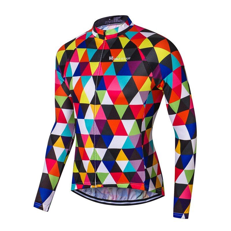 Weimostar 2017 Breathable Long Sleeve Cycling Jersey MTB Road Bike Jersey Ropa Ciclismo Autumn Cycling Clothing Bicycle Clothes