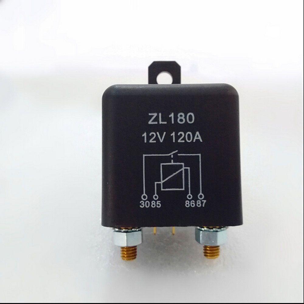 Automobil relais ZL180 schließer elektromagnetische strom 120 EINE DC12V 4 pin Auto starter relais