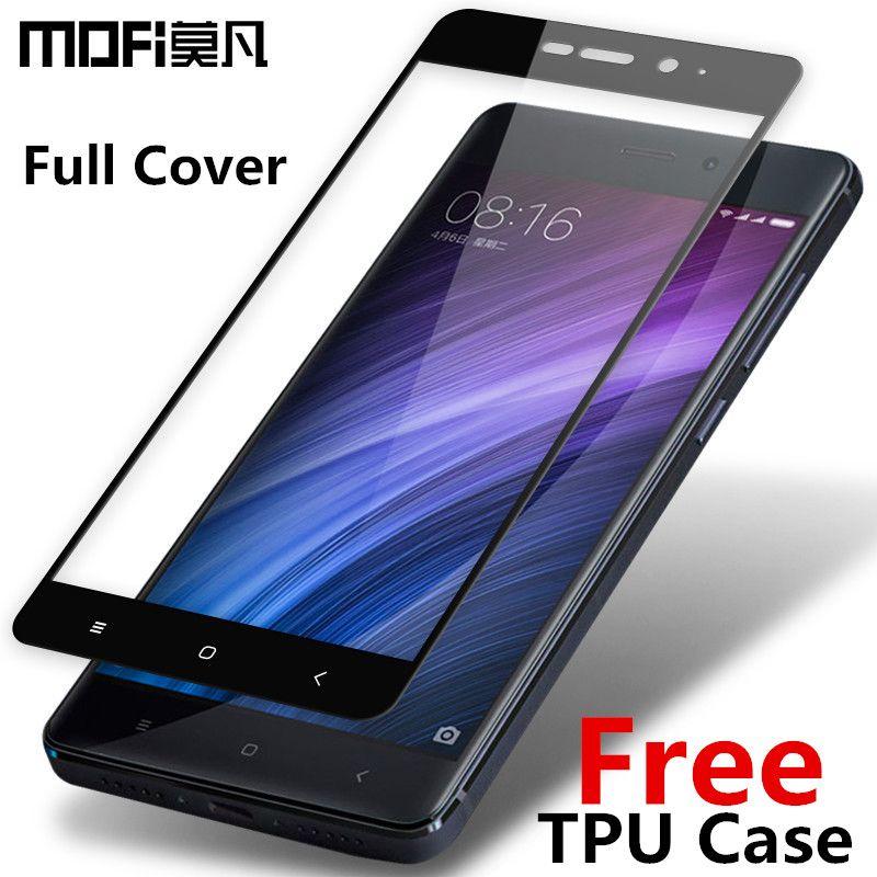 MOFi Redmi 4 pro en verre trempé 2.5D pleine couverture en verre trempé Xiaomi Redmi 4 pro premier écran protecteur Redmi 4 premier verre 5.0