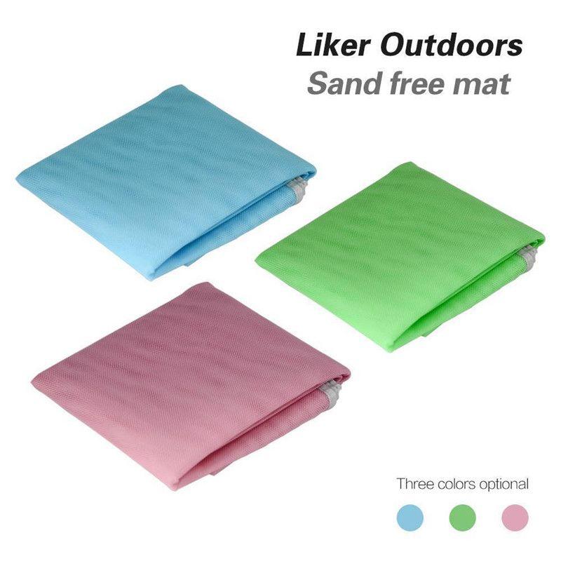 Beach <font><b>Camping</b></font> Mat Blue/Green/Red 120*150cm/200*150cm/200*200cm Beach Mats Sandbeach Mat Outdoor Rug Picnic Mattress Magic Pad