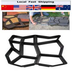 Pavement Mold Driveway Paving Brick Patio Paving Molds Para Concrete Slabs Path Pathmate Garden Buildings Walk Maker Mould