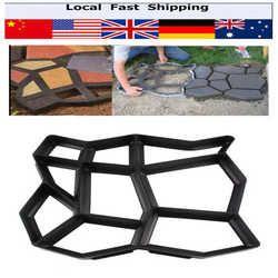 Pavement Mold Driveway Paving Brick Patio Paving Molds Para Concrete Slabs Path Pathmate Garden Buildings Walk Maker Mould
