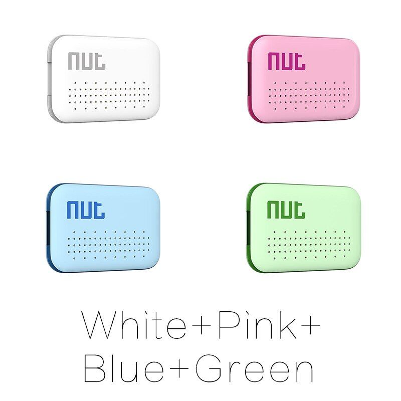4Pieces Nut 3 Mini Smart Key Finder itag Bluetooth Tracker Locator Luggage Wallet Phone Key Anti Lost Reminder Update from Nut 2