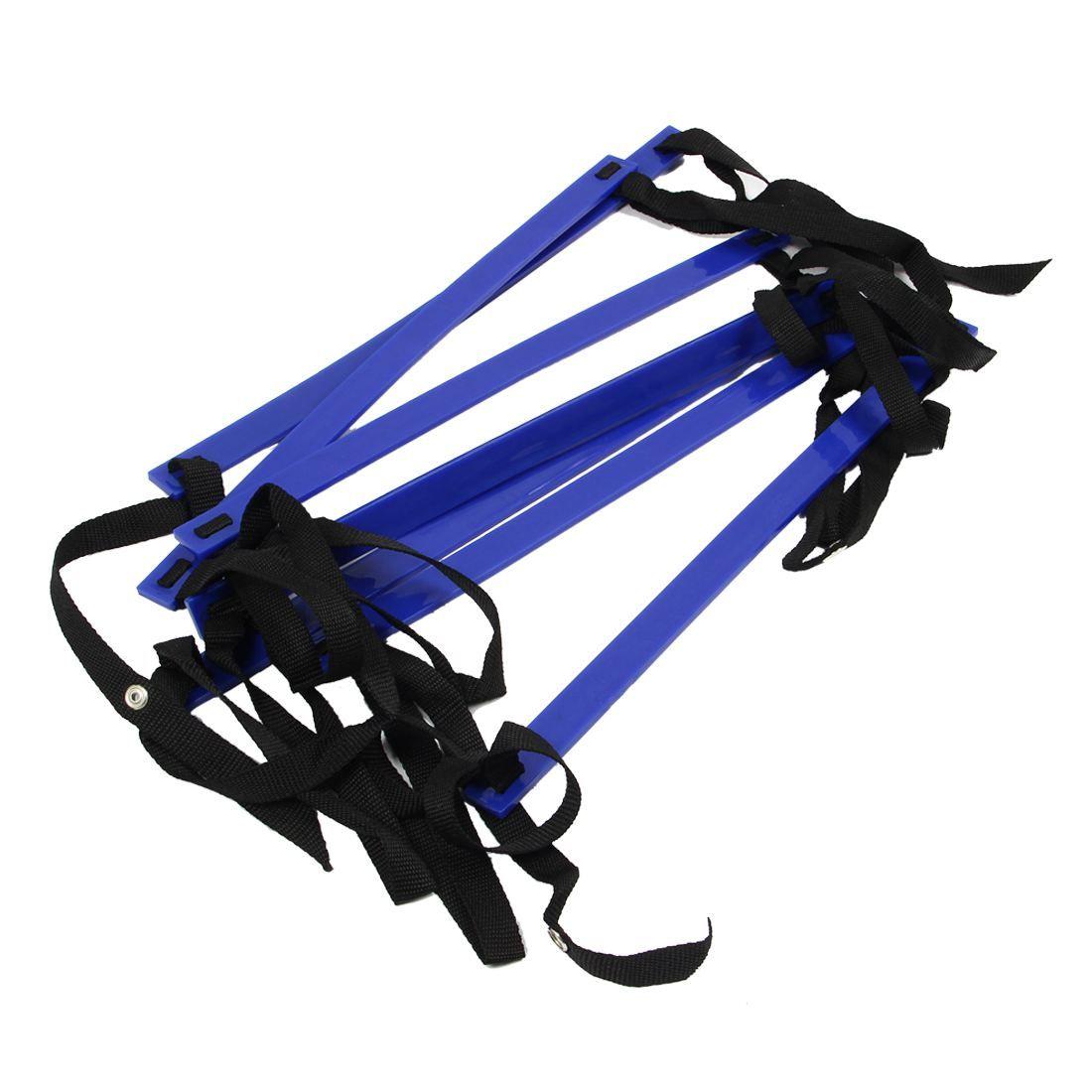 10 Средства ухода за кожей стоп ловкость Скорость лестница Футбол обучение лестница быстрый плоским Рунг Скорость лестница-синий