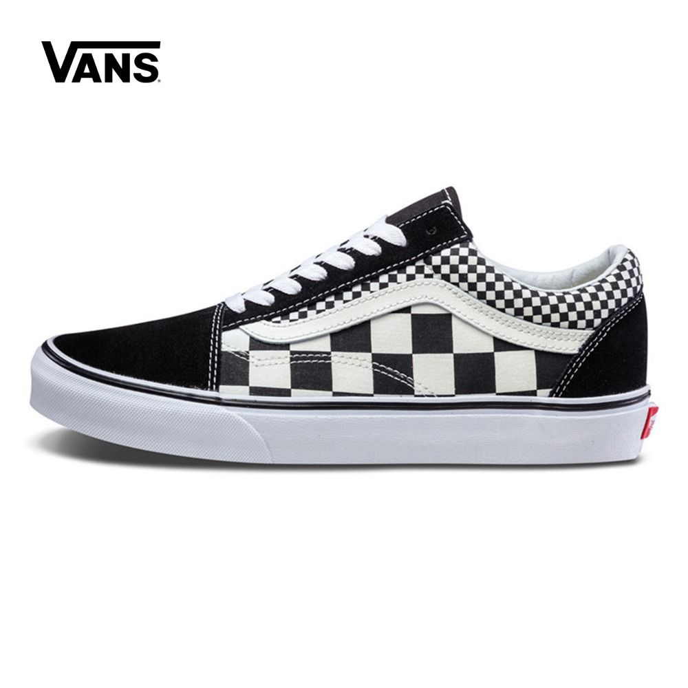 Original New Arrival Vans Men's & Women's Classic Old Skool Low-top Skateboarding Shoes Sneakers Canvas Outdoor VN0A38G1Q9B