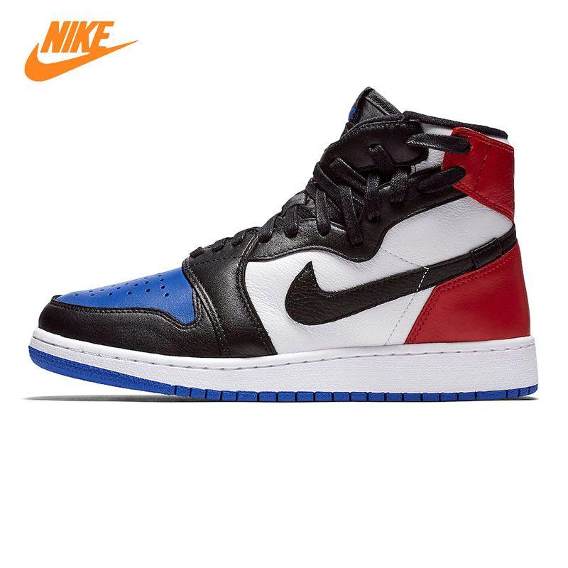 Nike AIR JORDAN 1 REBEL XX OG Frauen Basketball-schuhe, Red & Blue/White & Red, Stoßabsorbierendes Atmungs AT4151 001 AT4151 100