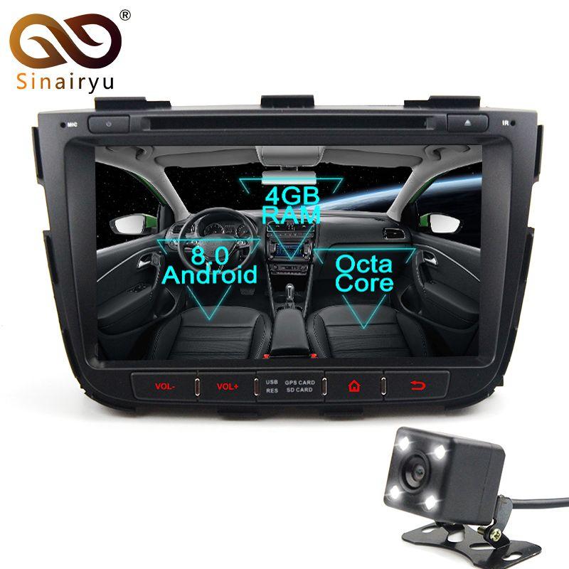Sinairyu 2 Din Android 8.0 Octa Core Auto DVD Player für Kia Sorento 2012-2014 GPS Navi Multimedia Radio Stereo kopf Einheit WIFI
