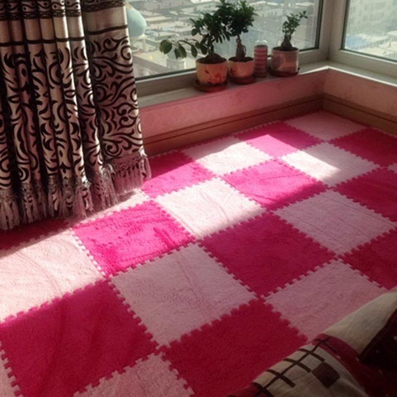 8 stücke Wohnzimmer schlafzimmer Kinder Kids Soft Teppich Magie Patchwork Jigsaw Splice Köpfe Klettern Baby Matte 30*30 cm Großhandel