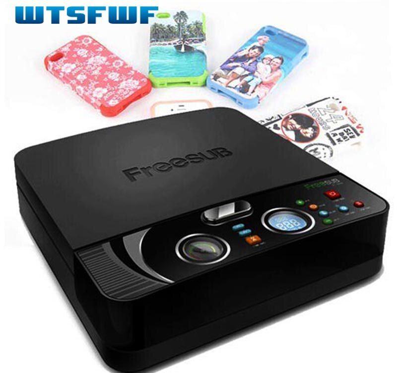 Wtsfwf ST-2030 3D Sublimation Heat Transfer Printer 3D Vacuum Heat Press Printer Machine for All Phone Cases Except Ipad
