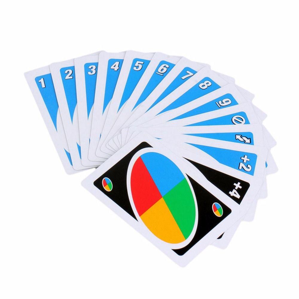 Familien Lustige Unterhaltung Brettspiel UNO Spaß Poker Spielkarten Puzzle Spiele familie spaß poker russische regeln kostenloser versand
