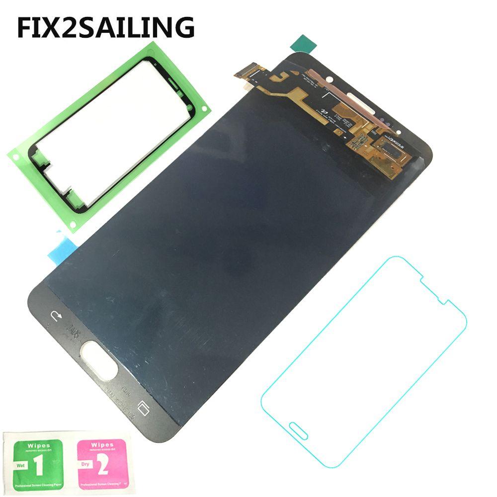 Super AMOLED LCD Display 100% Geprüfte funktion Touch Screen Für Samsung Galaxy Note 5 N920 Blau/Weiß/Gold