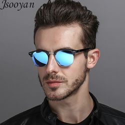 Jsooyan Fashion Polarized Sunglasses Women Men Unisex Driving Sunglass Classic Retro Round Shades Sun Glasses Male Eyewear