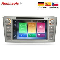 4G RAM Android 9.0 Auto DVD player GPS Navigation Multimedia Stereo Für Toyota Avensis T25 2003-2008 Auto Radio audio Steuergerät