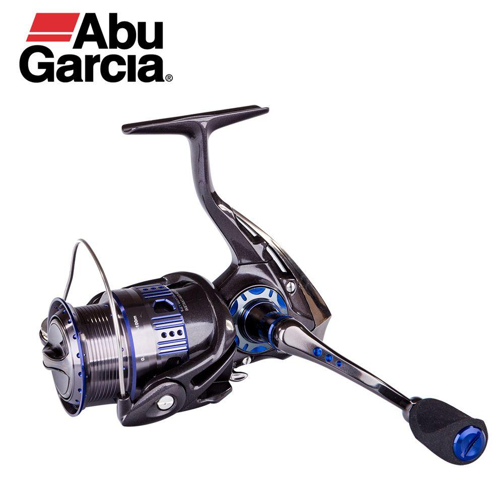 Abu Garcia REVO DEEZ Spin Fishing Wheel Carbon 7.4oz Lightweight 10 Bearings 6.2:1 Original Aluminum Alloy Spool Spinning Reel