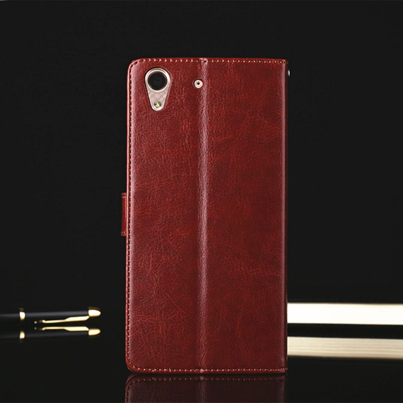 Luxury Wallet Cover Case for Huawei Y6 II Flip Cover Coque Fundas Shockproof Cover for Huawei Y6 II Case Cover Leather Original