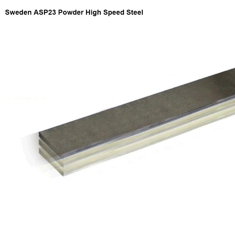 Schweden ASP23 Pulver High Speed Stahl Messer klinge 4,7mm dicke Wärme behandelt