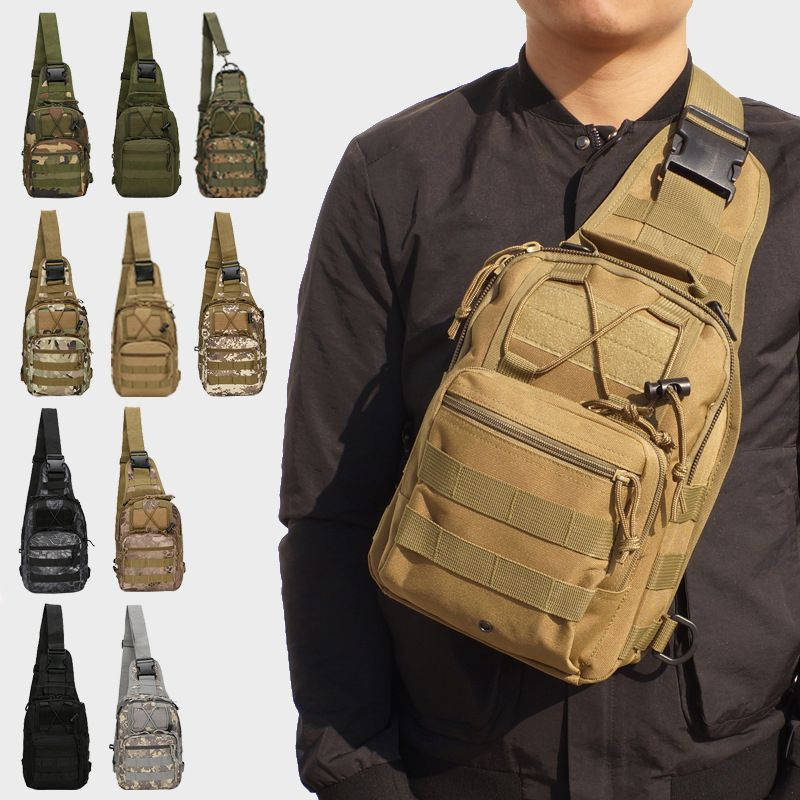 Outdoor Shoulder Military Backpack Camping Travel Hiking Trekking Bag 10 Colors