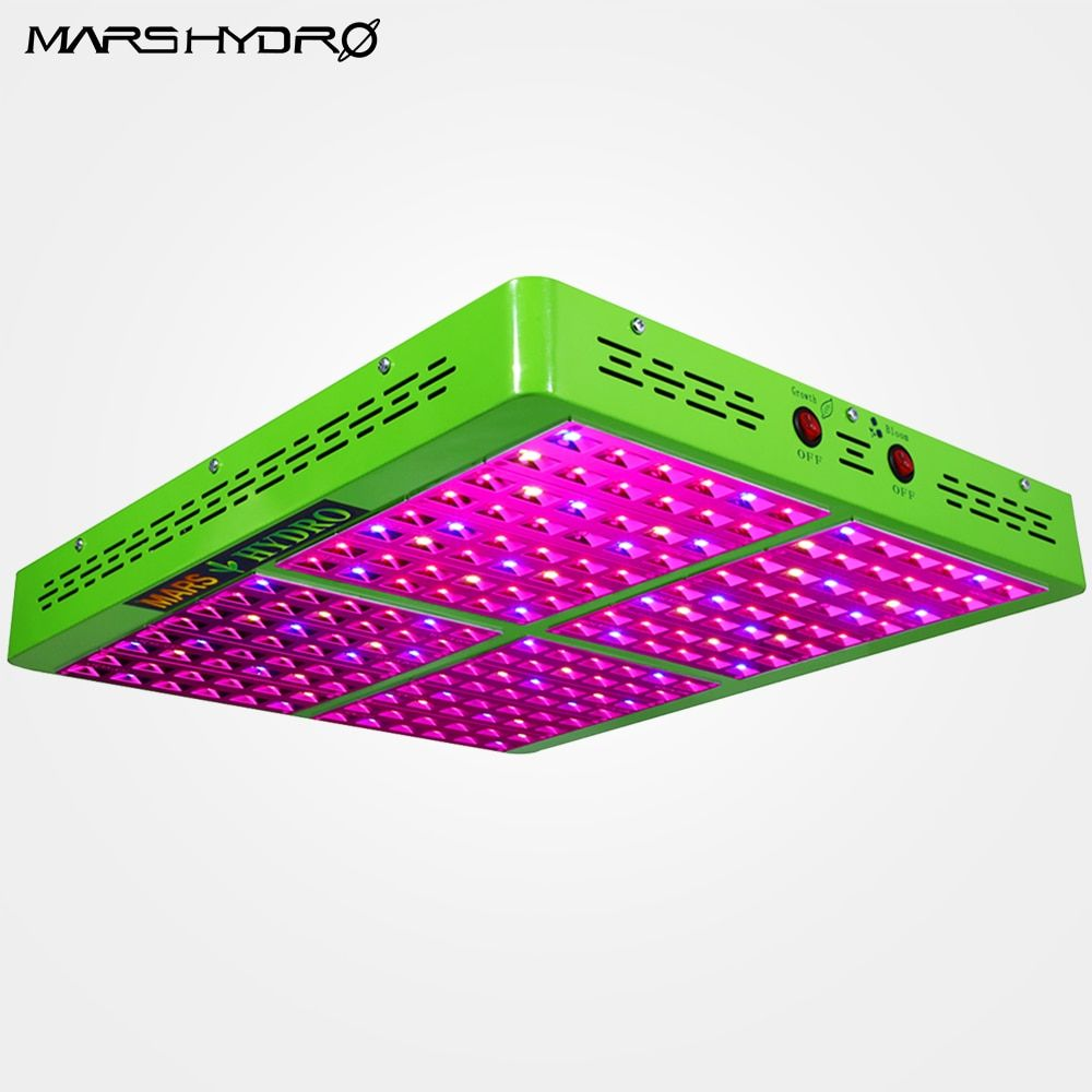 MarsHydro Reflector 960W LED Grow Light Hydroponics Lamp for Indoor Garden/Box