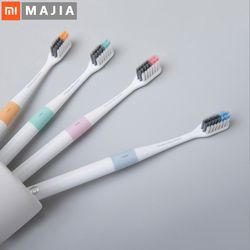 Xiaomi Doctor B Tooth Mi Bass Method Sandwish-bedded better Brush Wire 4 Colors Including Travel Box For xiaomi smart home