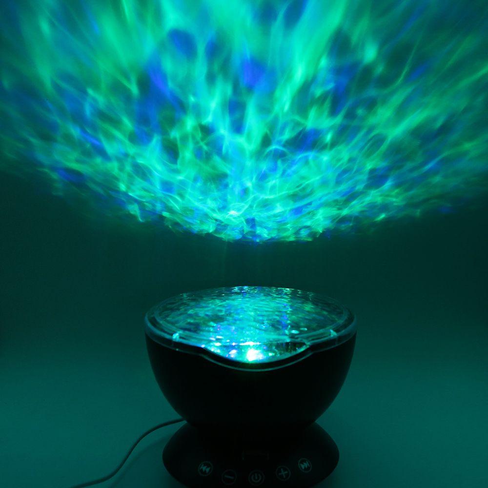 SXZM DC5V USB Bunten LED-licht Aurora Sky Urlaub Geschenk LED Sternen Nachtlicht Lampe Ozeanwelle Projektor mit Fernbedienung controller