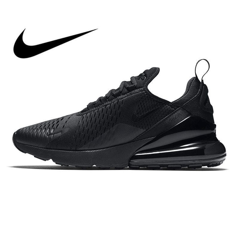 Original Nike Air Max 270 Men's Breathable Running Shoes Outdoor Sport Comfortable Lace-up Durable Jogging Sneakers AH8050