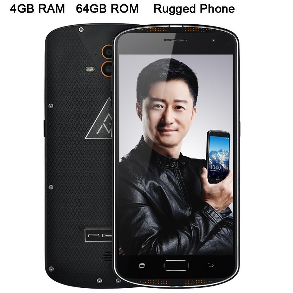 Original X1 Octa Core ip68 Rugged Waterproof Phone Shockproof Dual Camera 13.0mp 5.5