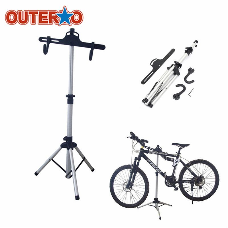 Newest Heavy Duty Aluminium Alloy Bicycle Stand Cycling Rack Holder Maintenance Tool MTB Bike Home Storage Repair Stand