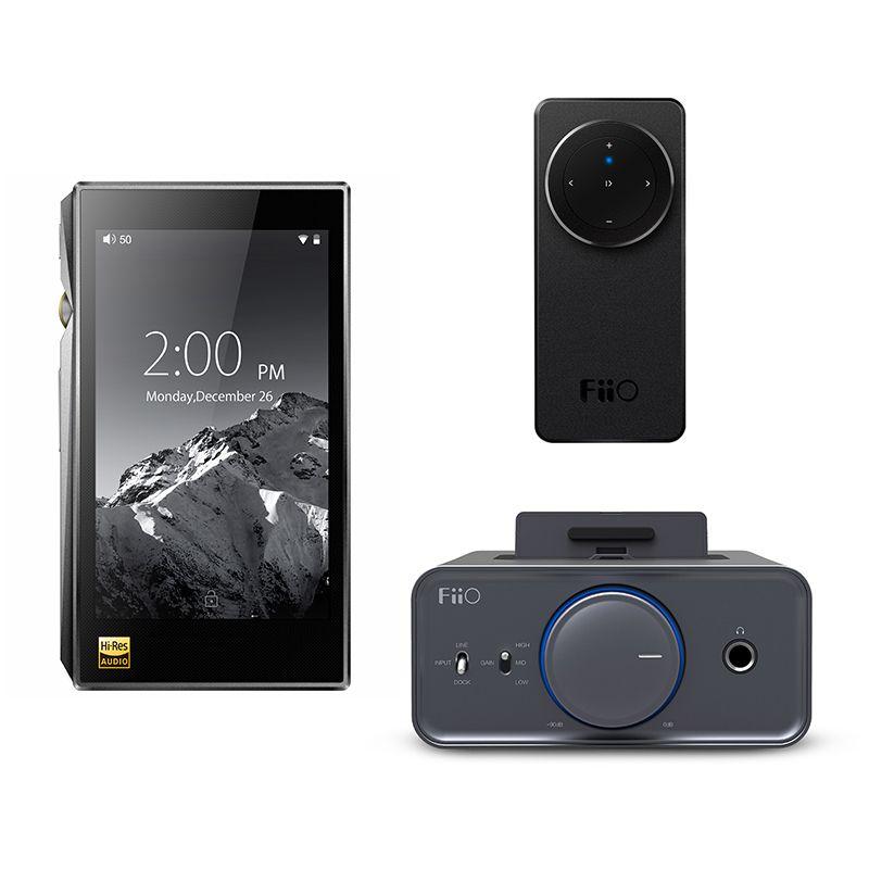 Bundle Verkauf von FiiO Portable Hallo-Res Musik-player X5 MKIII Mit Kopfhörerverstärker K5