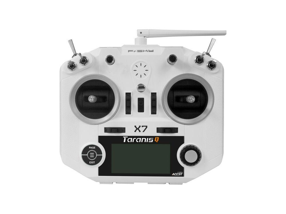 Marke neue Weiße farbe FrSky ACCST Taranis Q X7 QX7 2,4 GHz 16CH Sender