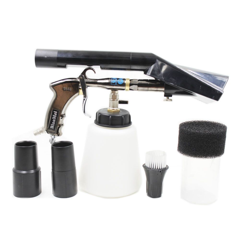 Z-020 2IN1 Tornado Air regulator bearring tube tornador gun black combo vacuum adapter(1 whole combo inner wash&vacuum gun)