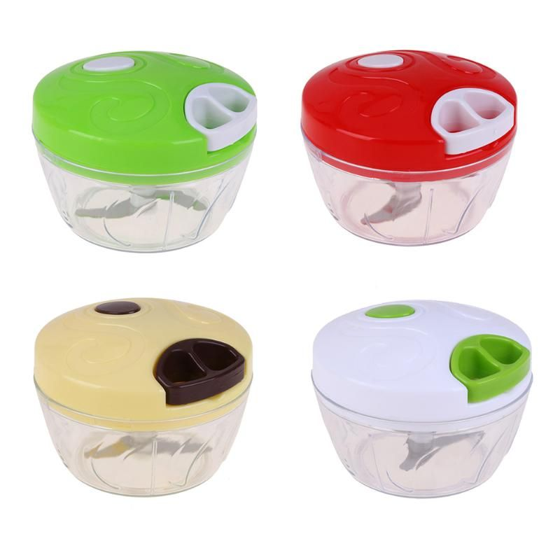 Manual Vegetable Food Chopper Cutter Processor Chopper Garlic Cutter Vegetable Fruit Twist Shredder Meat Grinder Tools