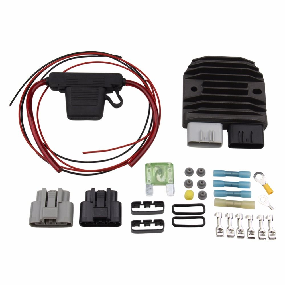 PRECISION AUTO LABS NEW FH020AA REGULATOR/RECTIFIER KIT REPLACES FH012AA 713831059832