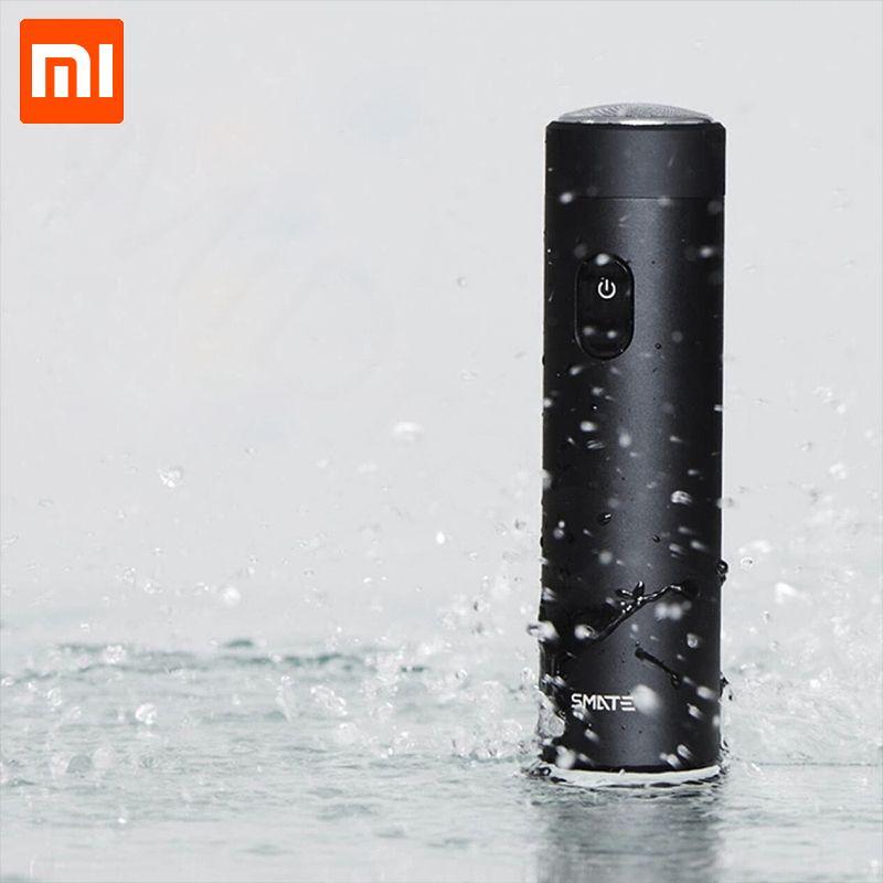 Nouveau Xiaomi Rasoir Smate Turbine Rasoir Électrique Hommes Rechargeable Barbe Couteau Mini Étudiant Xiaomi Électrique Rasoir Confortable Propre