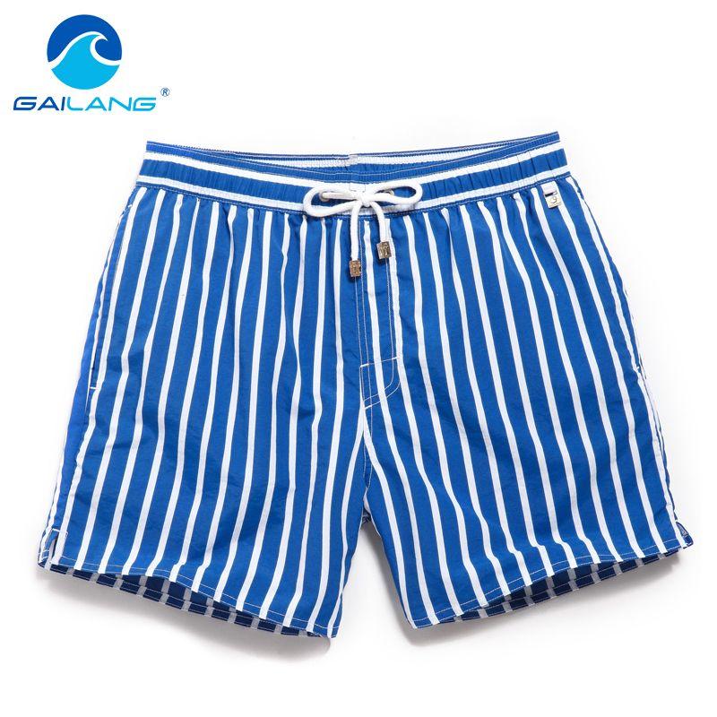 Gailang marque hommes Shorts de bord plage Boxer shorts maillots de bain maillots de bain 2016 homme shorts décontracté és bermudas masculina de marca