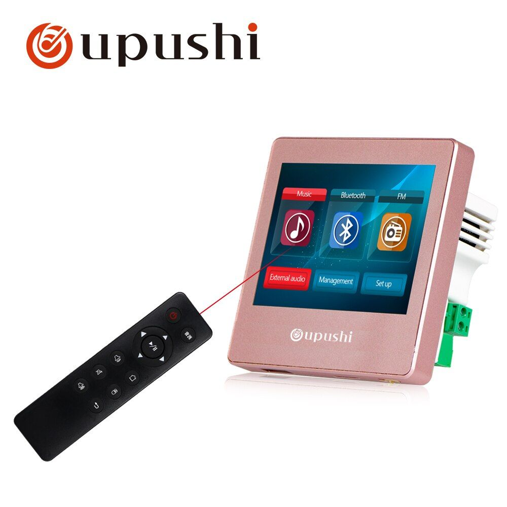 Background music in wall amplifiers,FM/SD/AUX IN/USB Music Player,Bluetooth digital stereo amplifier,home theater cinema system