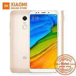 Mondial Version Xiaomi Redmi 5 plus 5.99 pouce Plein Écran Smartphone Redmi5 4 GB 64 GB Snapdragon 625 Octa Core 4000 mAh 12MP B4 B20
