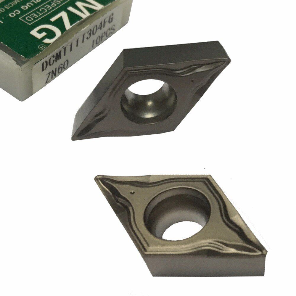MZG DCMT11T304 FG ZN60 CNC Lathe Turning Boring Cutting Carbide Cermet Inserts for Steel Highlight Processing toolholders
