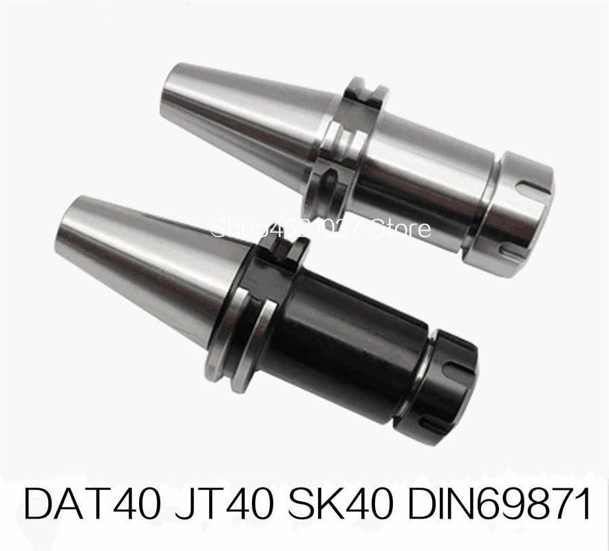 Neue DIN69871 sk40-er32 DAT40 JT40 SK40 ER32 ER25 ER20 ER16 70L 100L Frühjahr Spannzange CNC Werkzeughalter Fräsen Drehmaschine Cutter