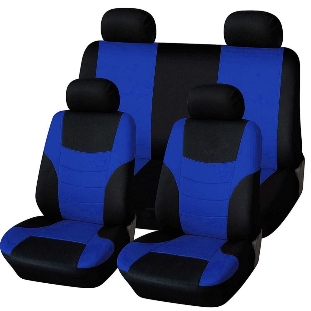 Universal Car Seat Cushions Breathable Car Seat Covers Pads Head Rest Covers Interior Auto Vehicles Supplies
