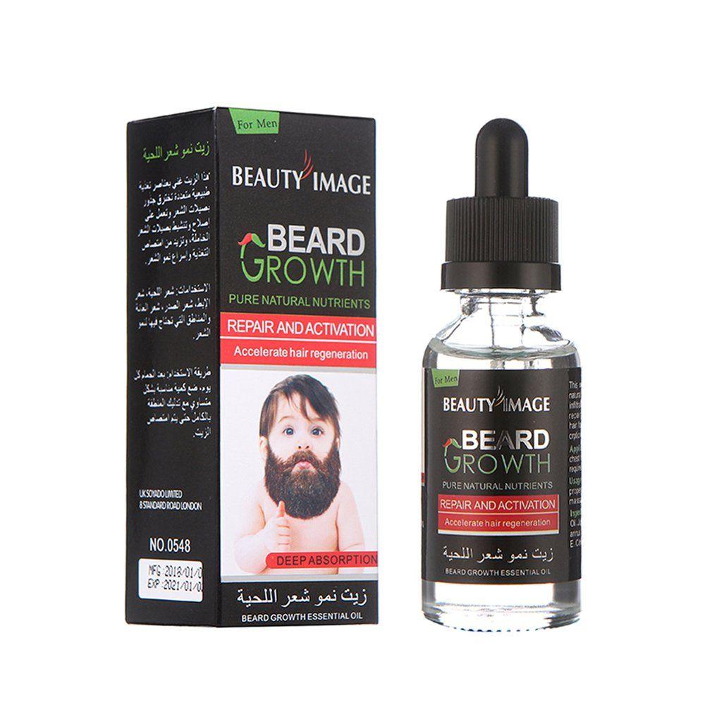 40 ml Sexy Bart Schnurrbart Brust Haar Wachstum Essenz Flüssigkeit Dicker Essenz Öl Enhancer Feuchtigkeitscreme Dicken Verlängerung