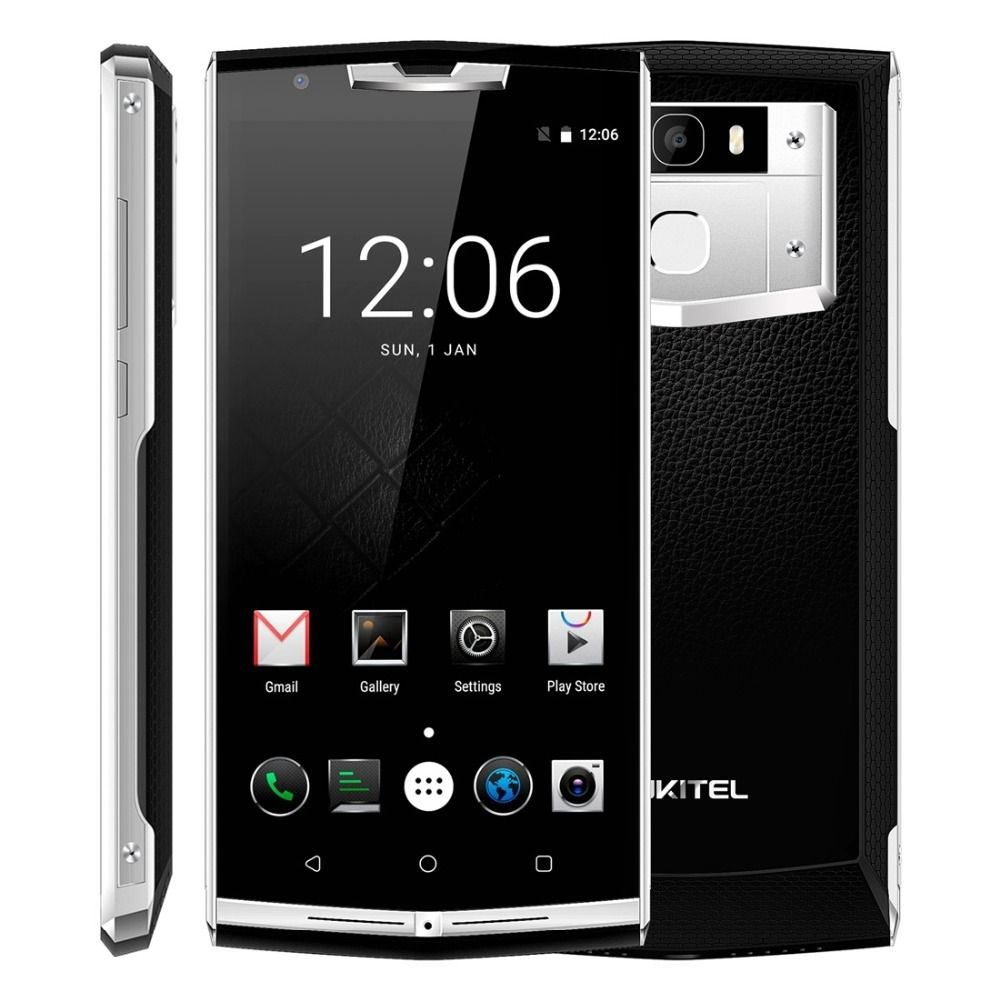 Oukitel k10000 Pro Mobile Phone Android 7.0 10000mAh 12V 2V 5.5