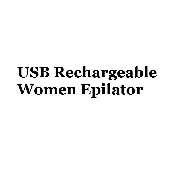 USB Rechargeable Women Epilator Portable Hair Removal Tool Rotary Shaver Body Face Leg Bikini lip Depilator Hair Remover laser