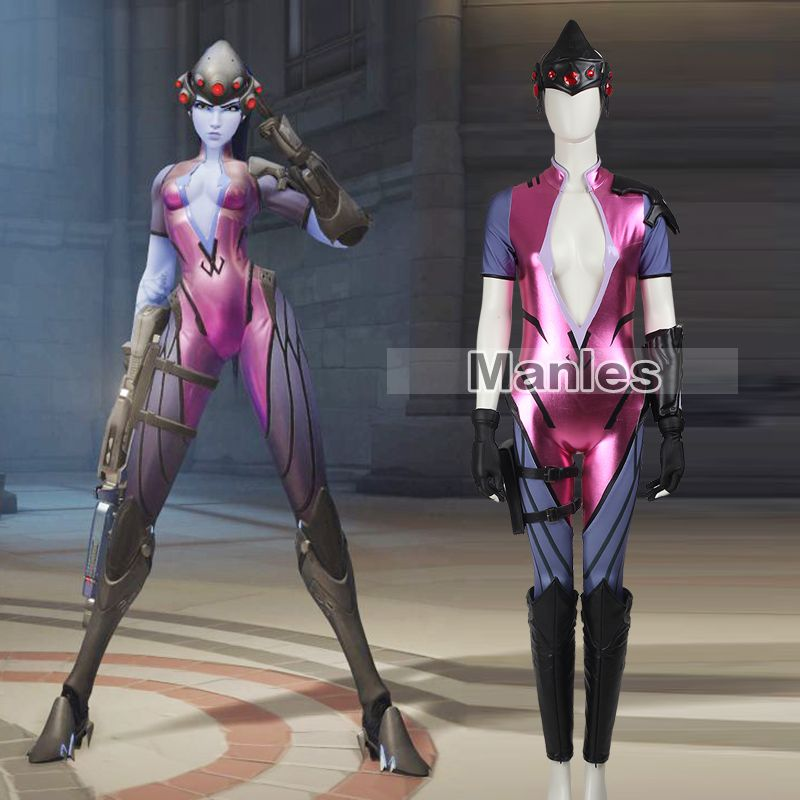Widowmaker Cosplay Costume Game Clothing Sexy Uniform Adult Women Full Set Carnaval Christmas Fancy Catsuit Female Custom Made
