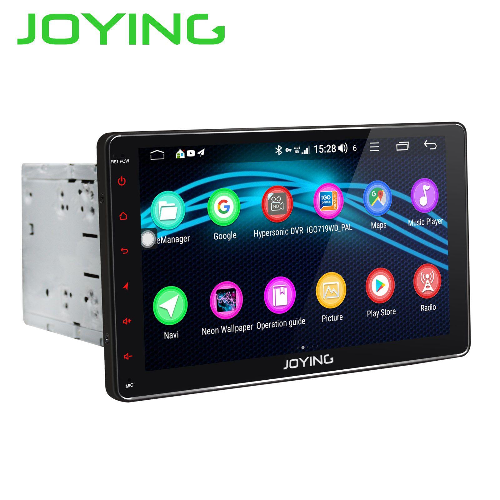 JOYING 2 din auto radio 9 HD Screen 4 GB RAM 32 GB ROM Android 8.1 Octa Core gebaut in DSP autoradio auto multimedia-player stereo